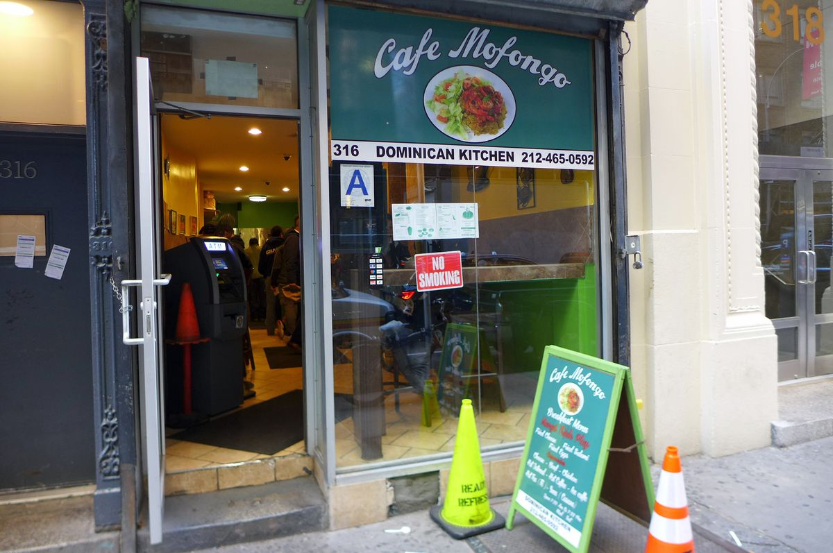 Cafe Mofongo, just south of the Port Authority