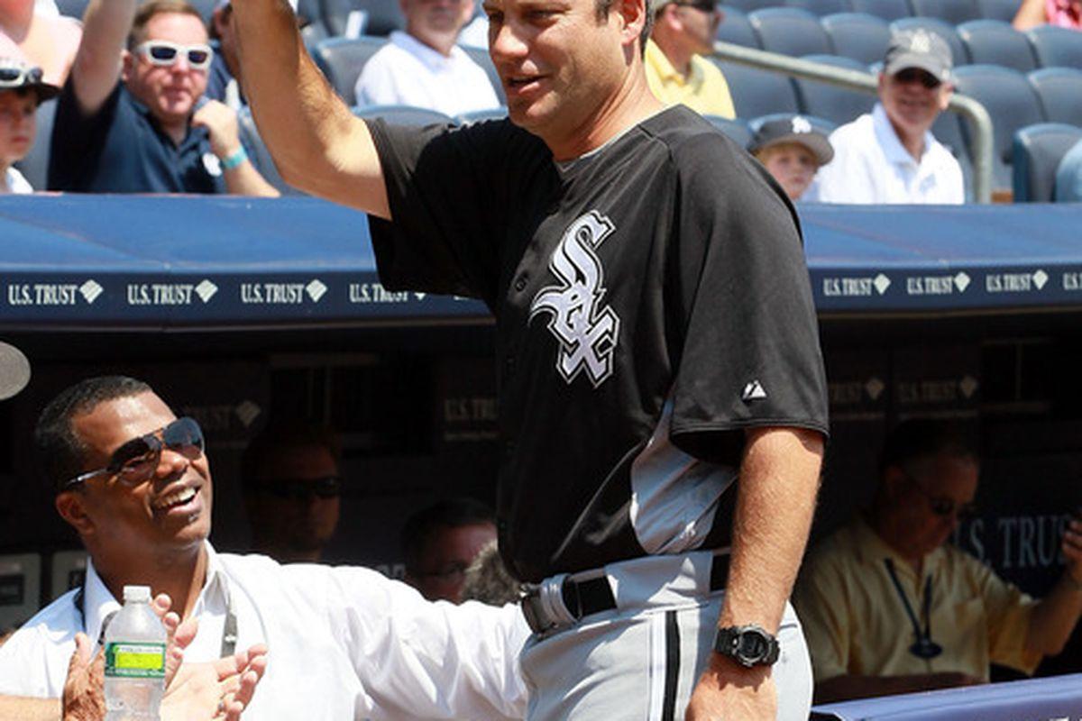 Robin Ventura: Yankee Old-Timer.
