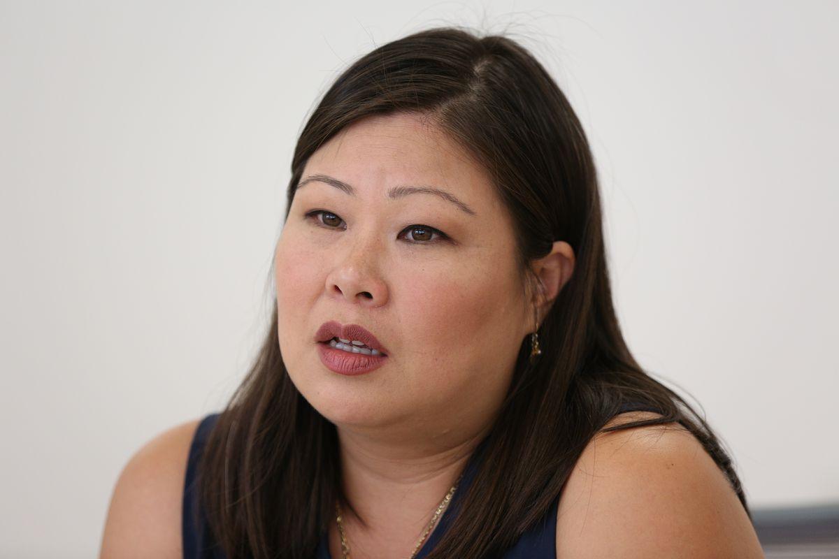 Josina Morita, a Metropolitan Water Reclamation District commissioner.