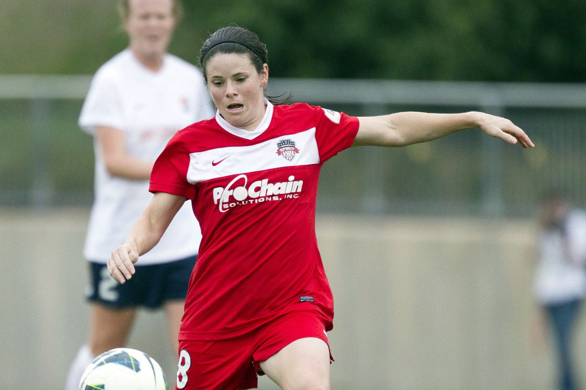 Diana Matheson and the Spirit never backed down, earning a late equalizer on Wednesday.