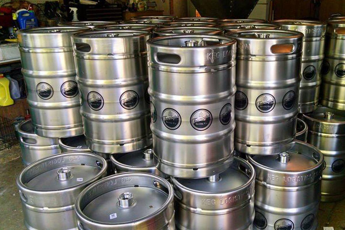 Farmington Brewing Kegs