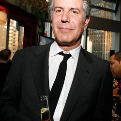 Unlikely sex symbol Anthony Bourdain's connection is a bit of a stretch. He used to be the chef at Les Halles, and Les Halles used to be in DC (it's now Del Frisco's Grille).