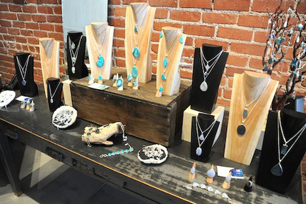 """My, what big (gem) stones you have. Image via <a href=""""http://www.yovenice.com/2011/07/10/made-in-earth-abbot-kinney/"""">Yo! Venice</a>."""