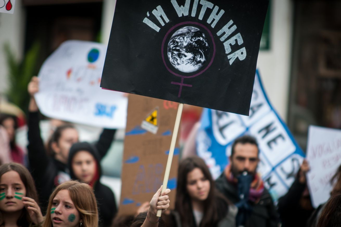'Fridays For Future' Protest In Rome