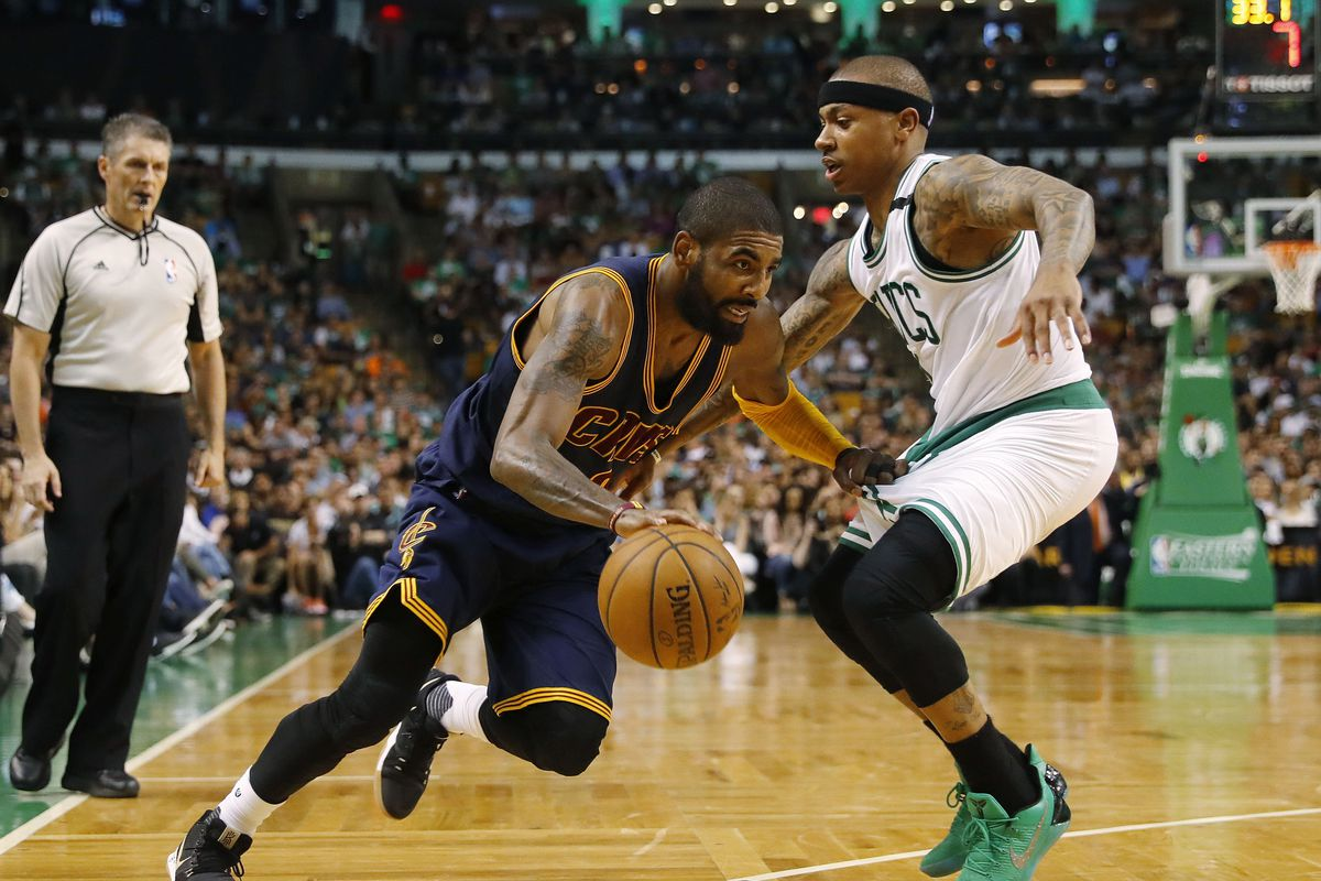 b088f7682527 Kyrie Irving trade to Celtics for Isaiah Thomas went from  in discussion   to reality very quickly