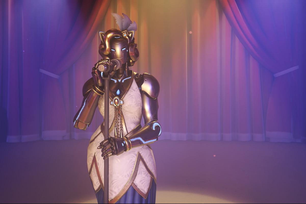 Overwatch - Luna, the singing omnic.