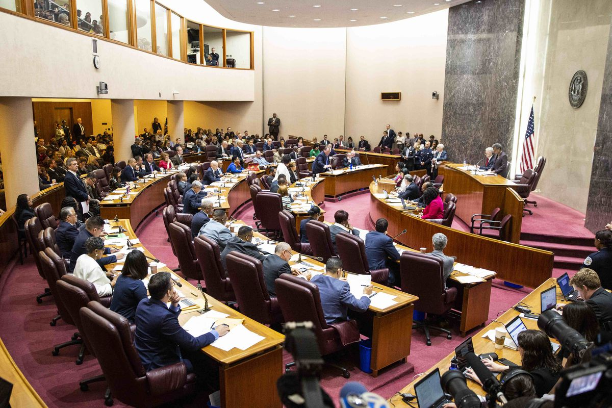Chicago City Council, meeting on May 29, 2019.