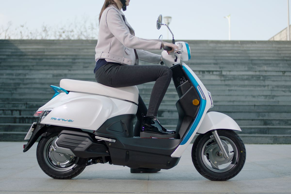 Kymco's new electric scooters could be the sign of a coming boom