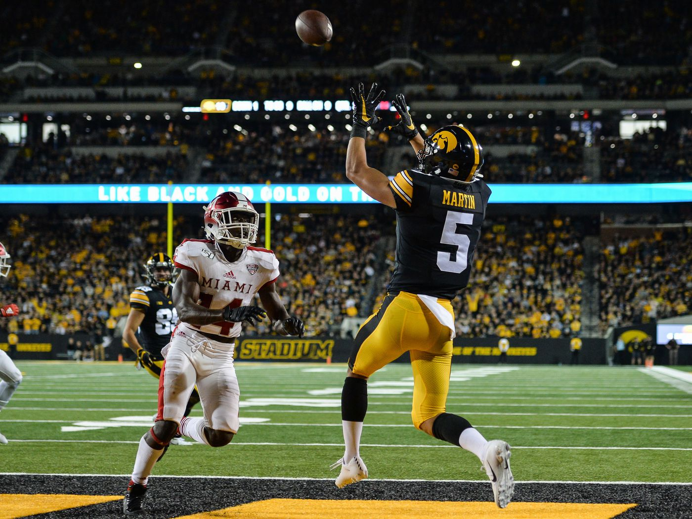 Iowa Hawkeyes 38 Miami Of Ohio 14 Was There Ever A Doubt