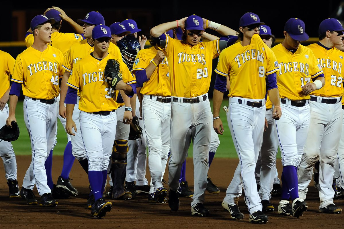 LSU walks off TD Ameritrade for the last time...until next year.