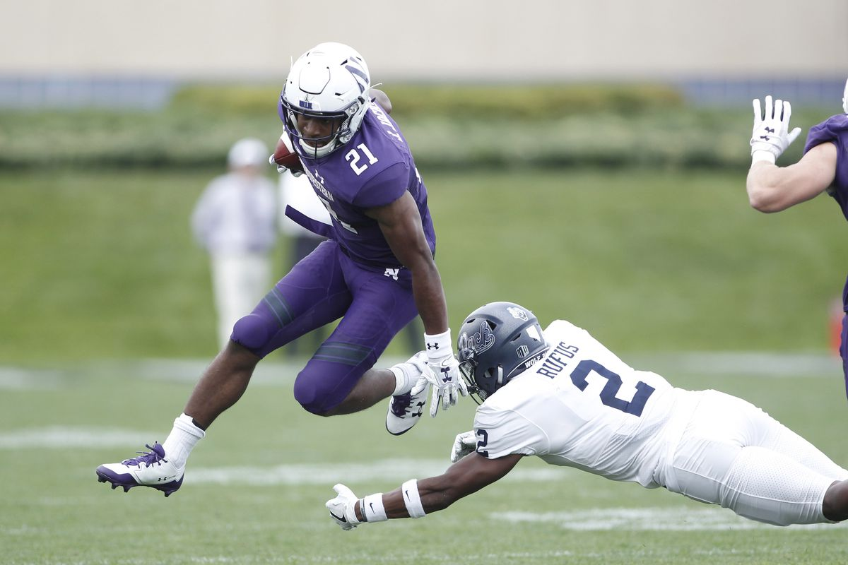 bbdab5f5e4c Rapid Reaction: Northwestern erases halftime deficit, defeats Nevada 31-20  behind huge day from Clayton Thorson