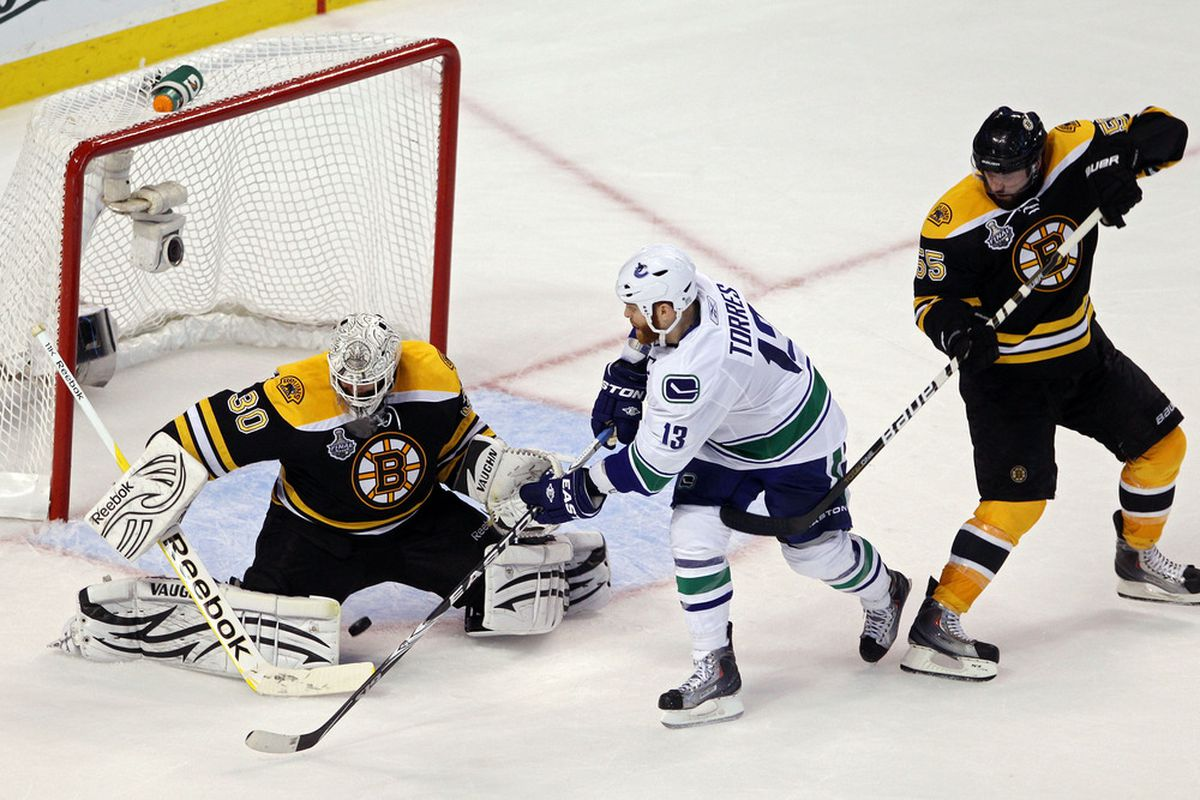 <em>Tim Thomas' 1.34 GAA and .962 SV% in the Finals has earned him the Conn Smythe Award, regardless of whether or not the Bruins win tonight.</em>