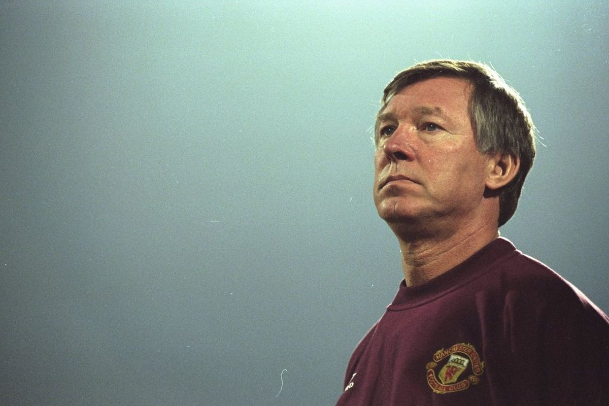 Today is one day shy of 25 years at Manchester United for manager Sir Alex Ferguson
