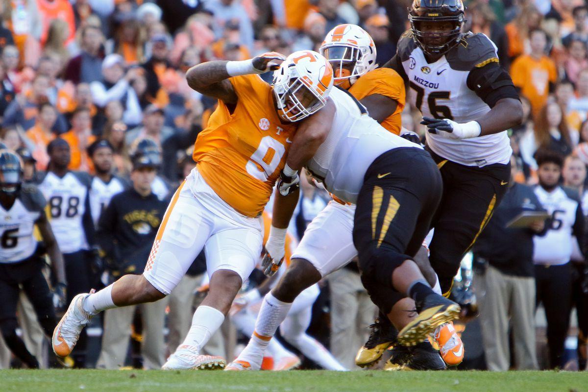 NCAA Football: Missouri at Tennessee