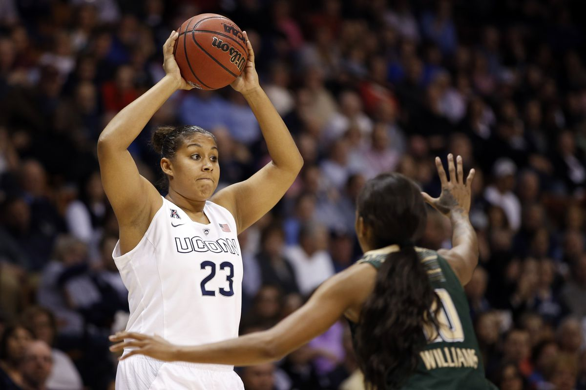 Kaleena Mosqueda-Lewis is one of several options the Seattle Storm could take in our Community Mock Draft.