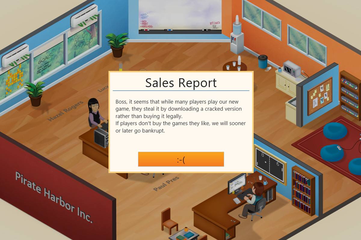 Players who pirated 'Game Dev Tycoon' see their virtual