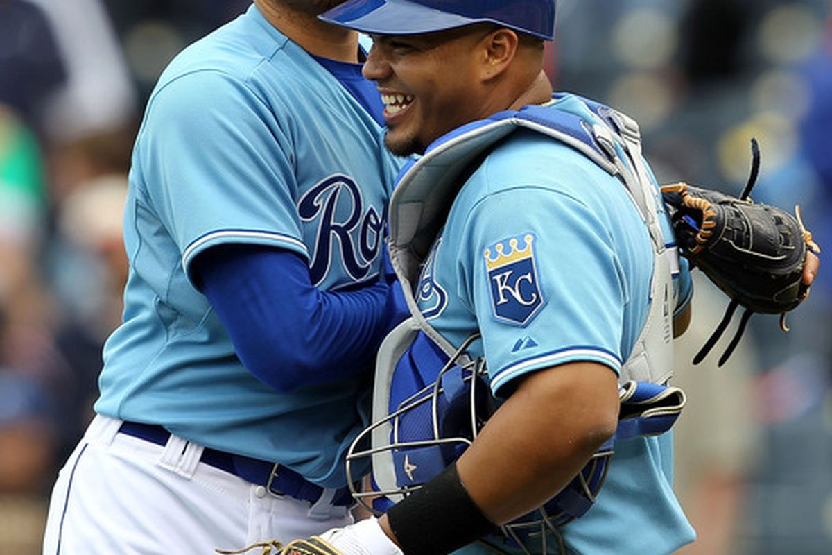 If this was it, we'll miss you and your magnificent smile Brayan. (Photo by Jamie Squire/Getty Images)