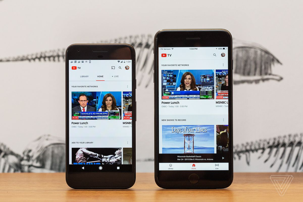 YouTube TV comes to more markets, YouTube mobile app announced