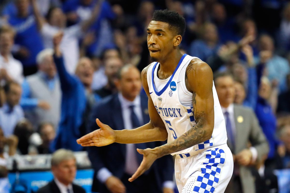 The New York Knicks select Malik Monk from Kentucky with the No. 8 overall pick in the Blazer's Edge 2017 NBA Mock Draft.