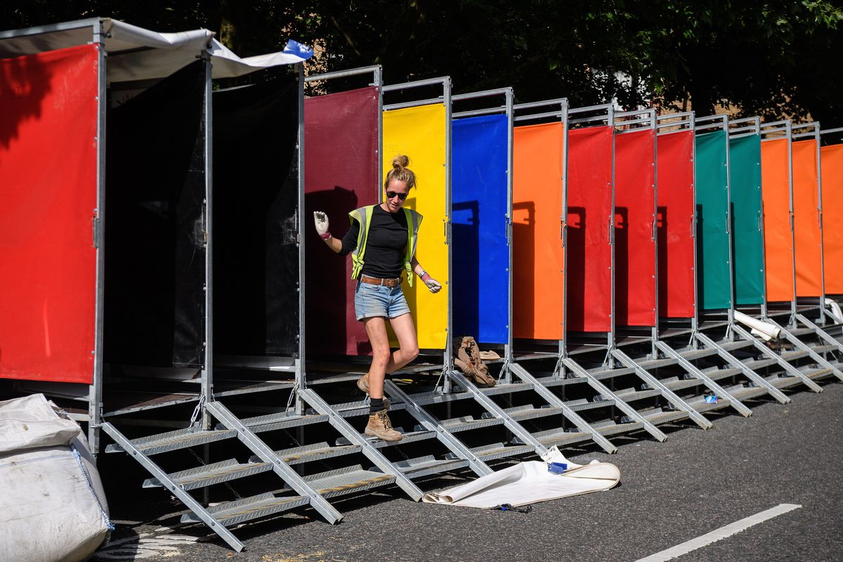 Notting Hill Prepares To Welcome Carnival-goers This Weekend