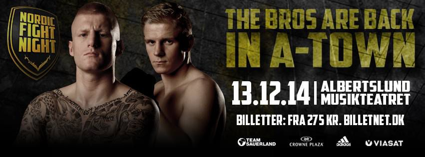nordic fight night banner 12/13