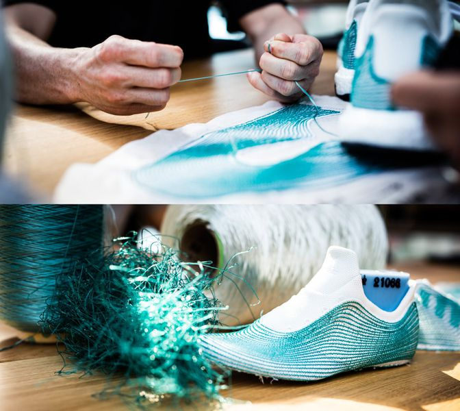 Adidas Limited Edition Recycled Shoes