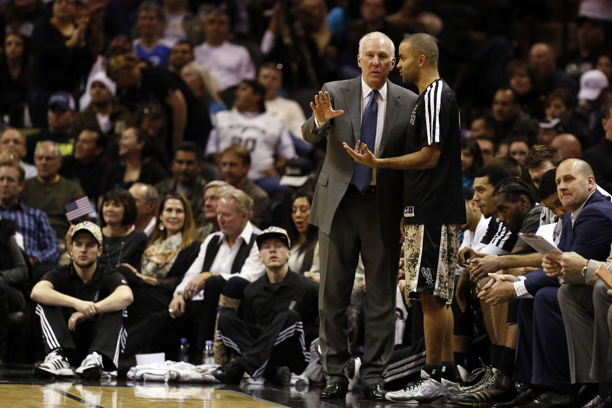 """""""Pop, we're up by 20. Just let him play."""" """"I hear you, Tony. But who's 'Nando'?"""""""