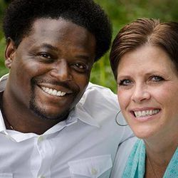 Former BYU safety Derwin Gray met his wife, Vicki, at BYU in 1990. They've been married for 21 years.