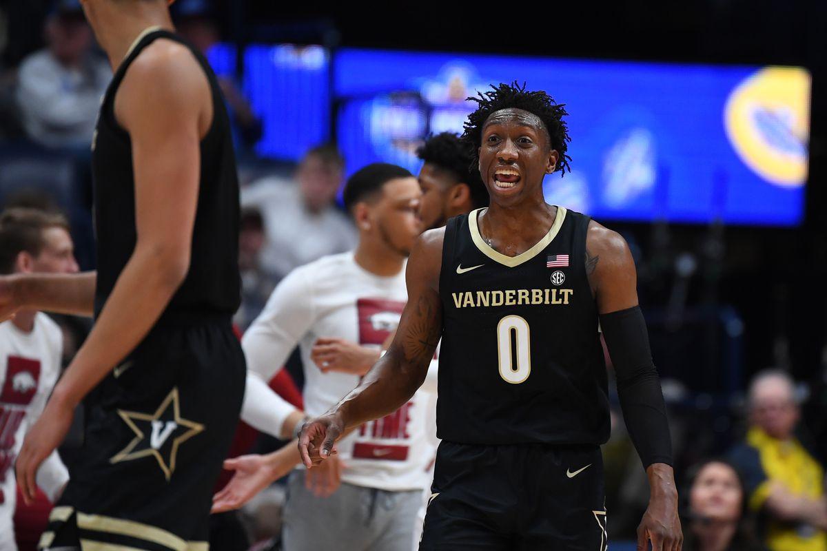 NCAA Basketball: SEC Tournament-Vanderbilt vs Arkansas
