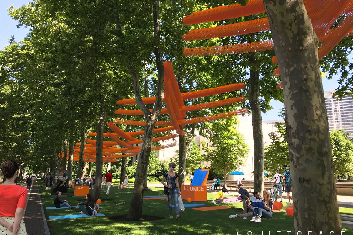 Oval Pop Up Park And New Barnes Canopy Open This Week