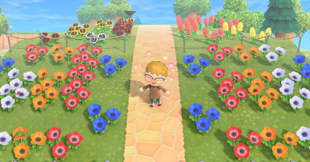 Animal Crossing New Horizons Switch Flowers And Hybrids Guide