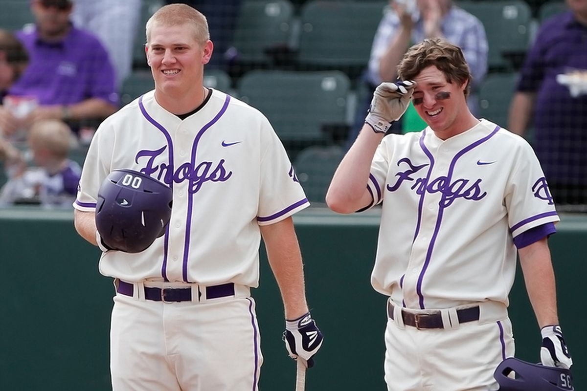 Kevin Cron and Jantzen Witte return in 2013, fully healthy, to man the corners for the Frogs.