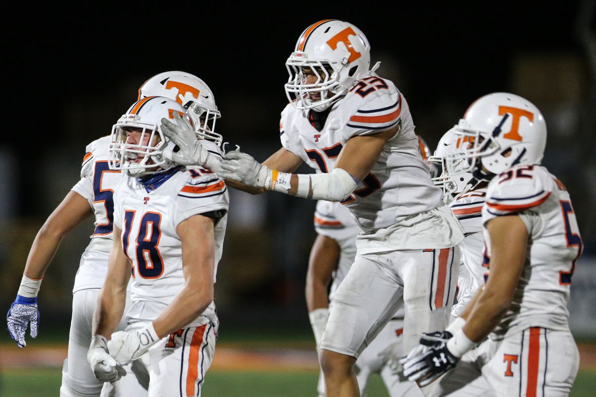 Brighton and Timpview compete during a high school 5A football quarterfinal at Brighton High School in Cottonwood Heights on Friday, Nov. 6, 2020.