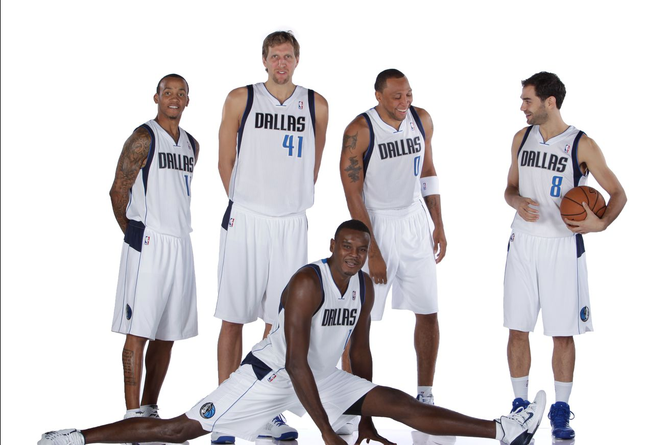 Ranking the Mavericks' starting fives this decade