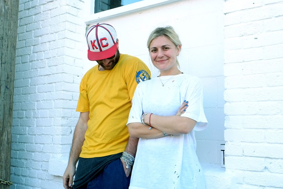 """The Squad designers Alex and Katherine; Photo: <a target=""""_blank"""" href=""""http://oaknyc.com/blog/interview-the-squad/"""">OAK NYC</a>"""