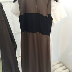 Stone and black dress, $120 (was $248)