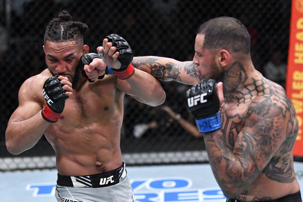 UFC打击夜:Lee V Rodriguez