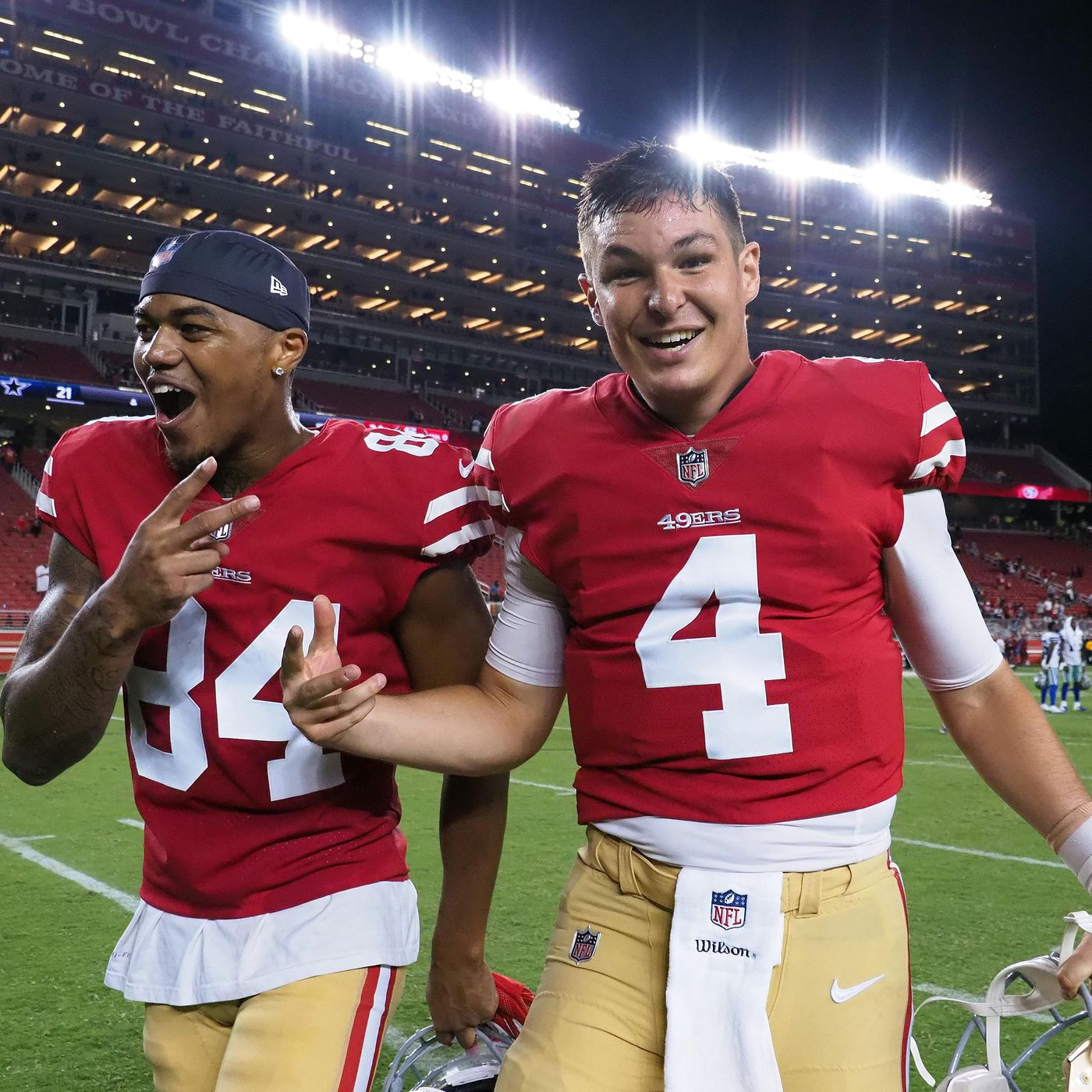 best authentic e2814 eeab4 49ers vs. Cowboys preseason 2018: Nick Mullens is your KSWOF ...