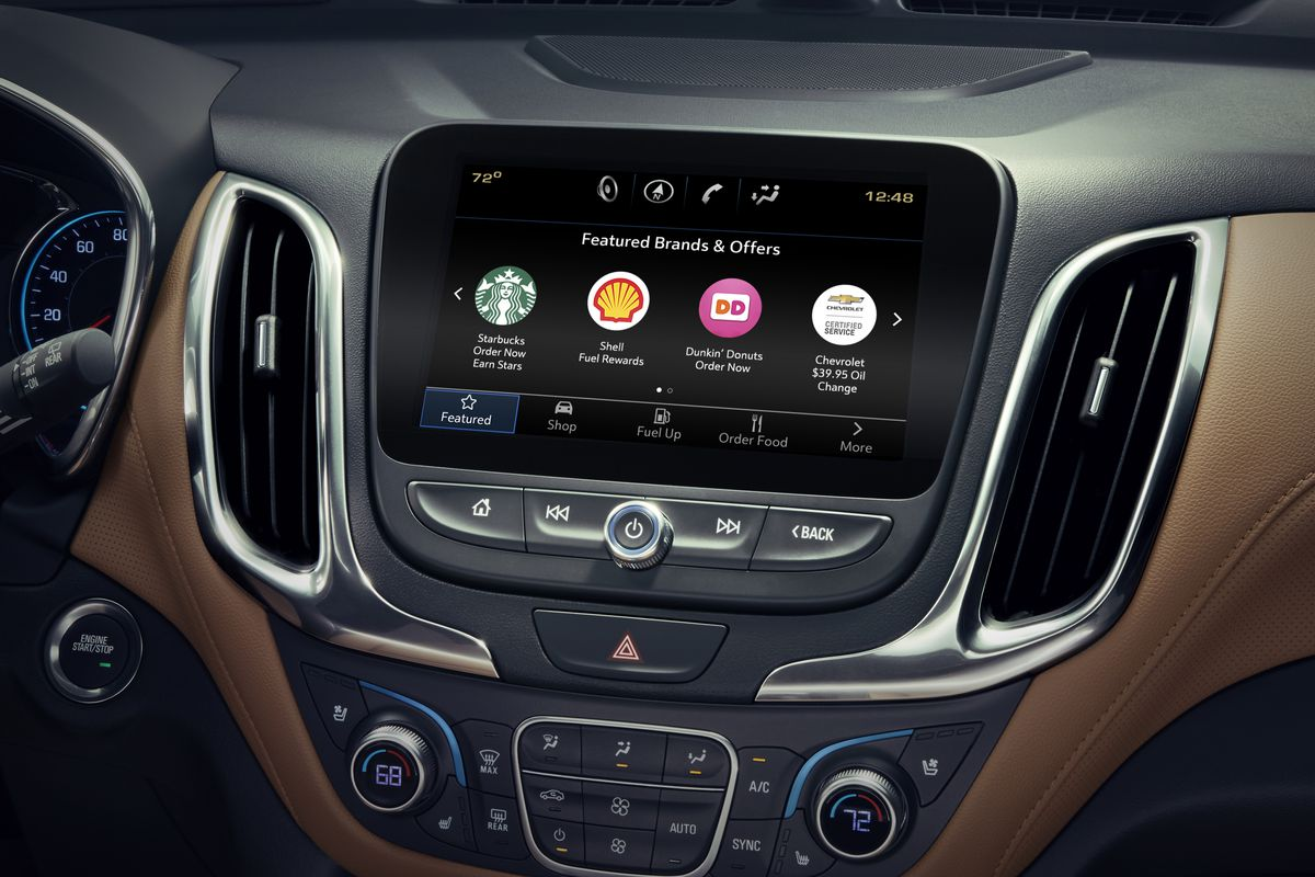 General Motors app lets you order food, shop from auto