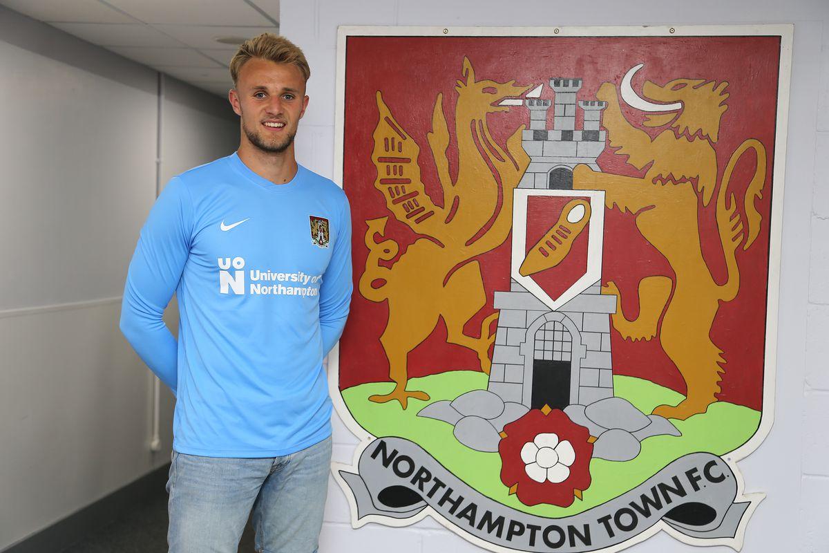Northampton Town Unveil New Signing Lewis Ward