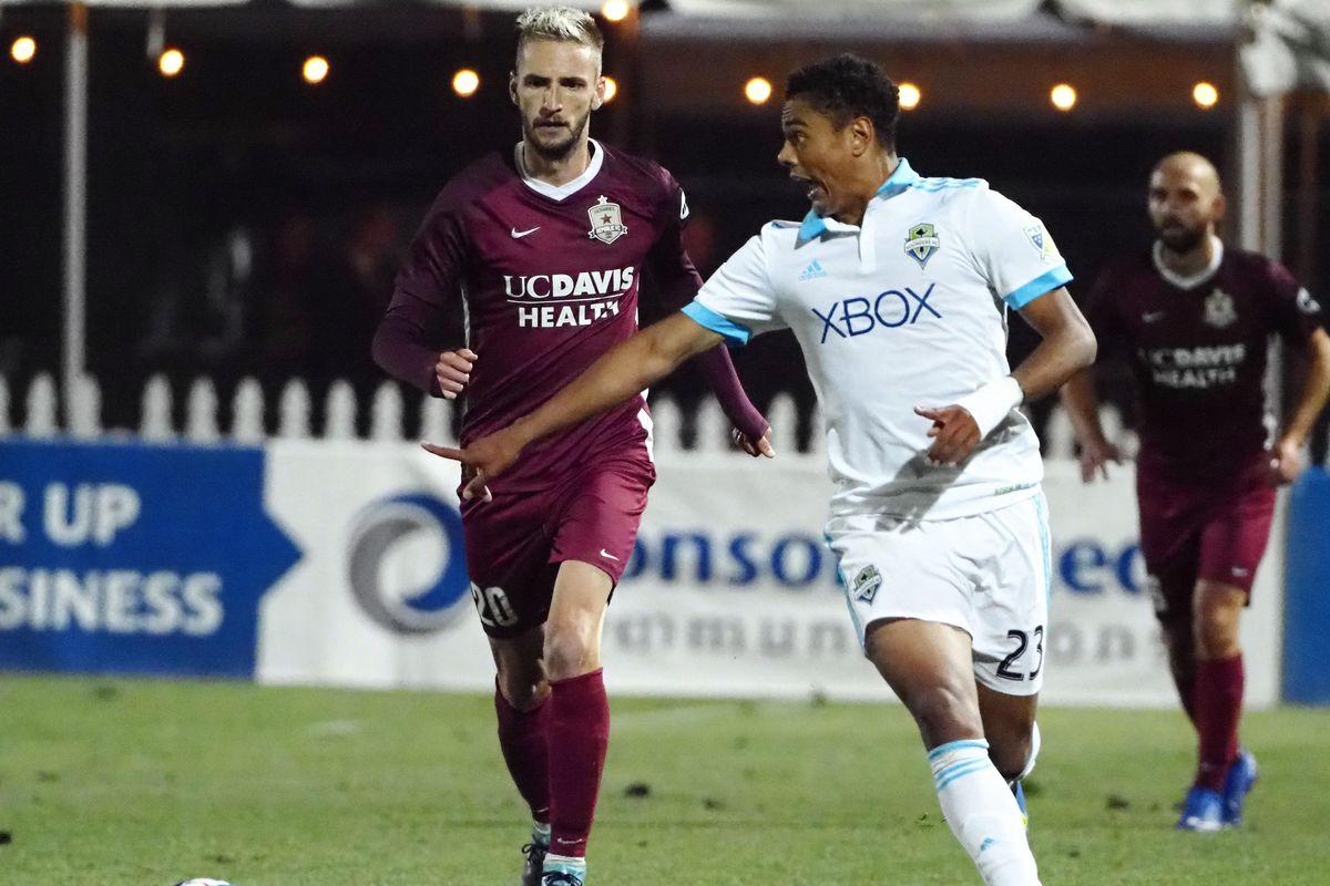 MLS: U.S. Open Cup-Seattle Sounders vs Sacramento Republic FC