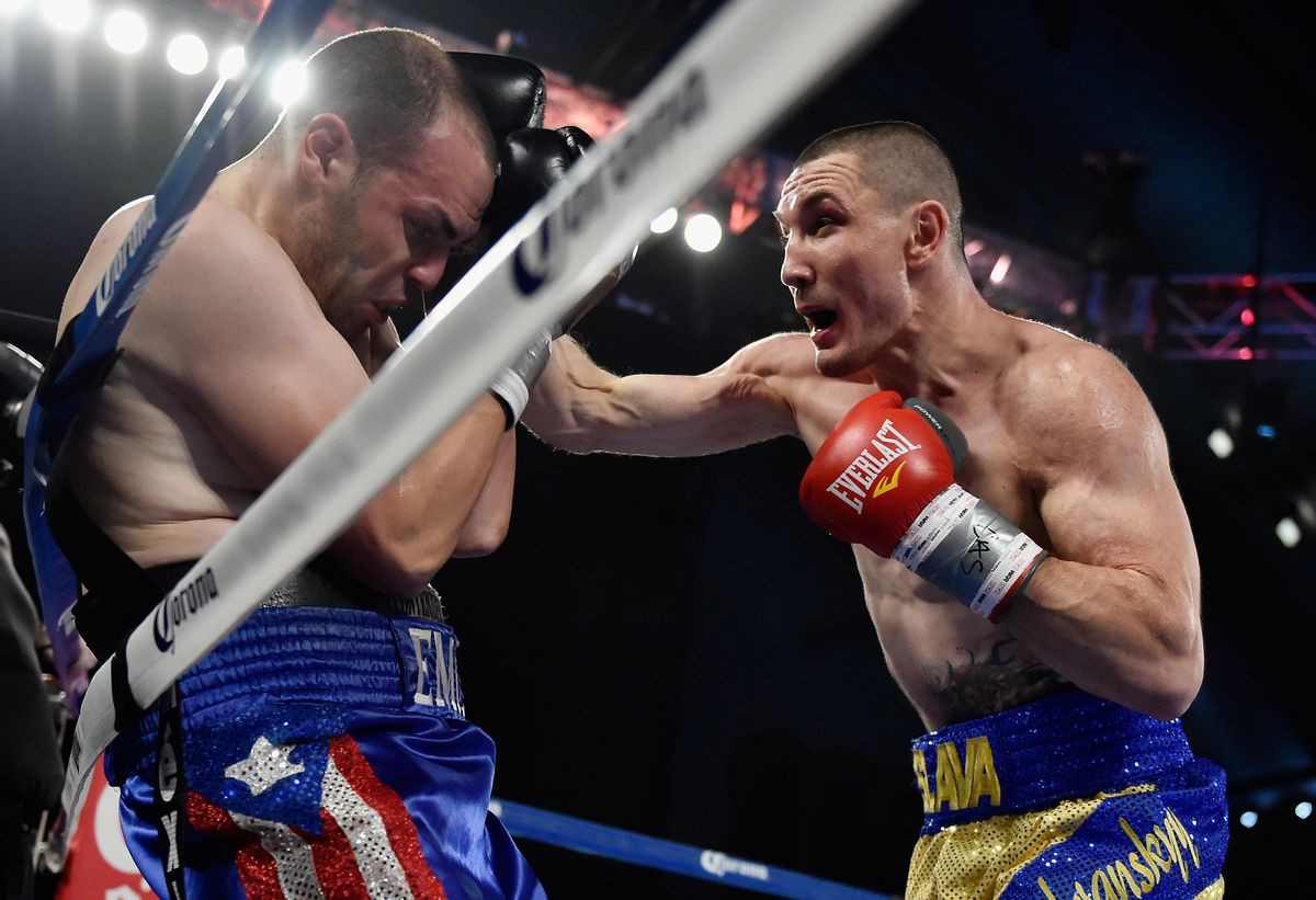 Vyacheslav Shabransky vs. Emil Gonzalez