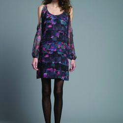 frock! Madison in painted squares, $278