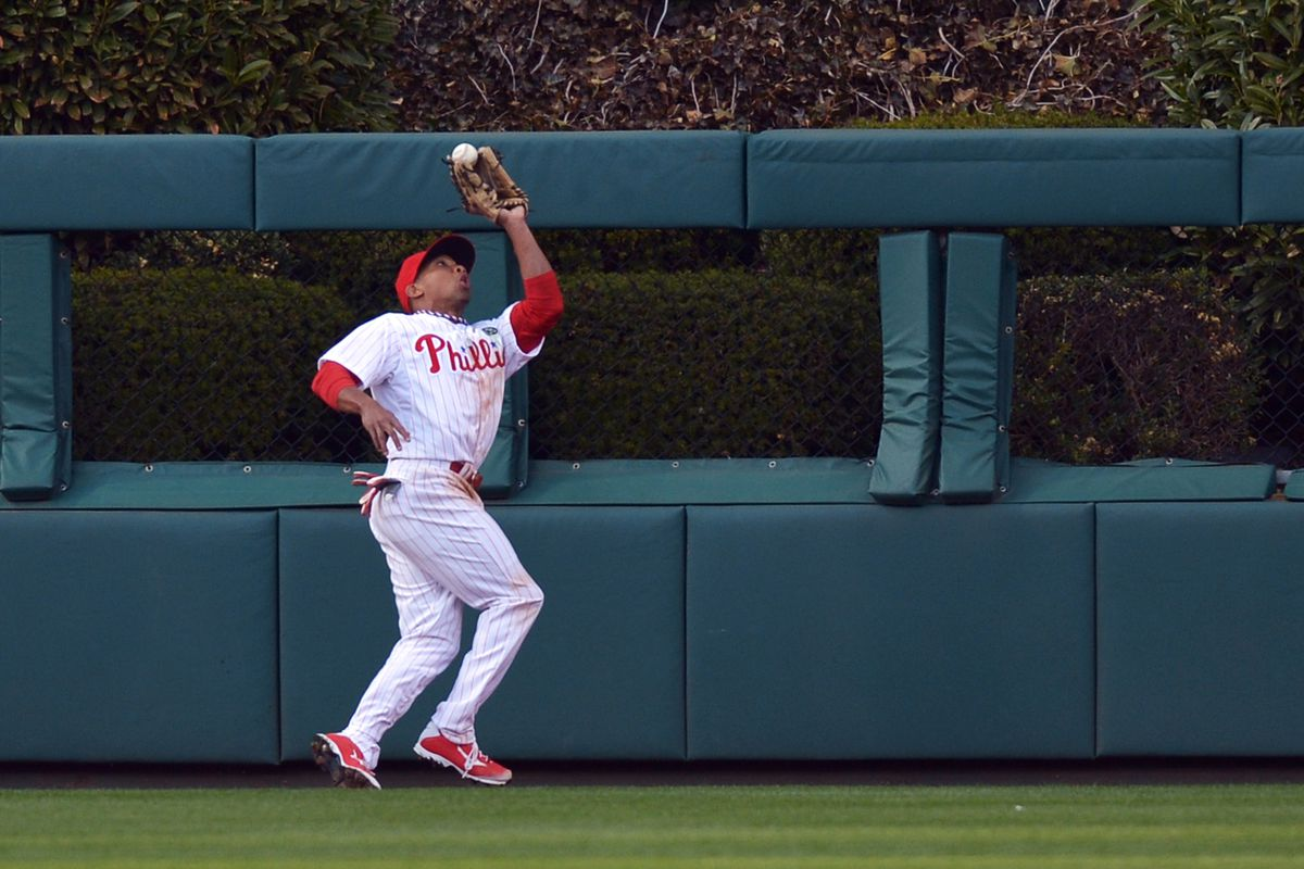 Ben Revere didn't catch this one.