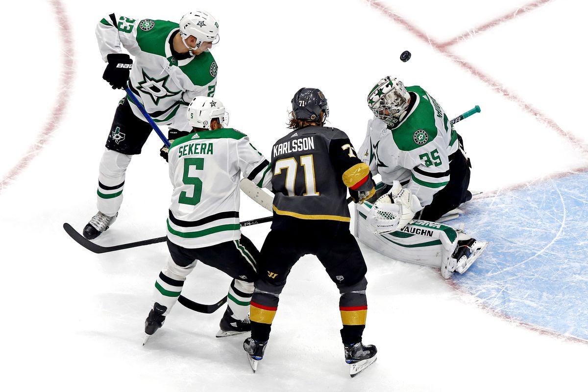 NHL: Stanley Cup Playoffs-Dallas Stars at Vegas