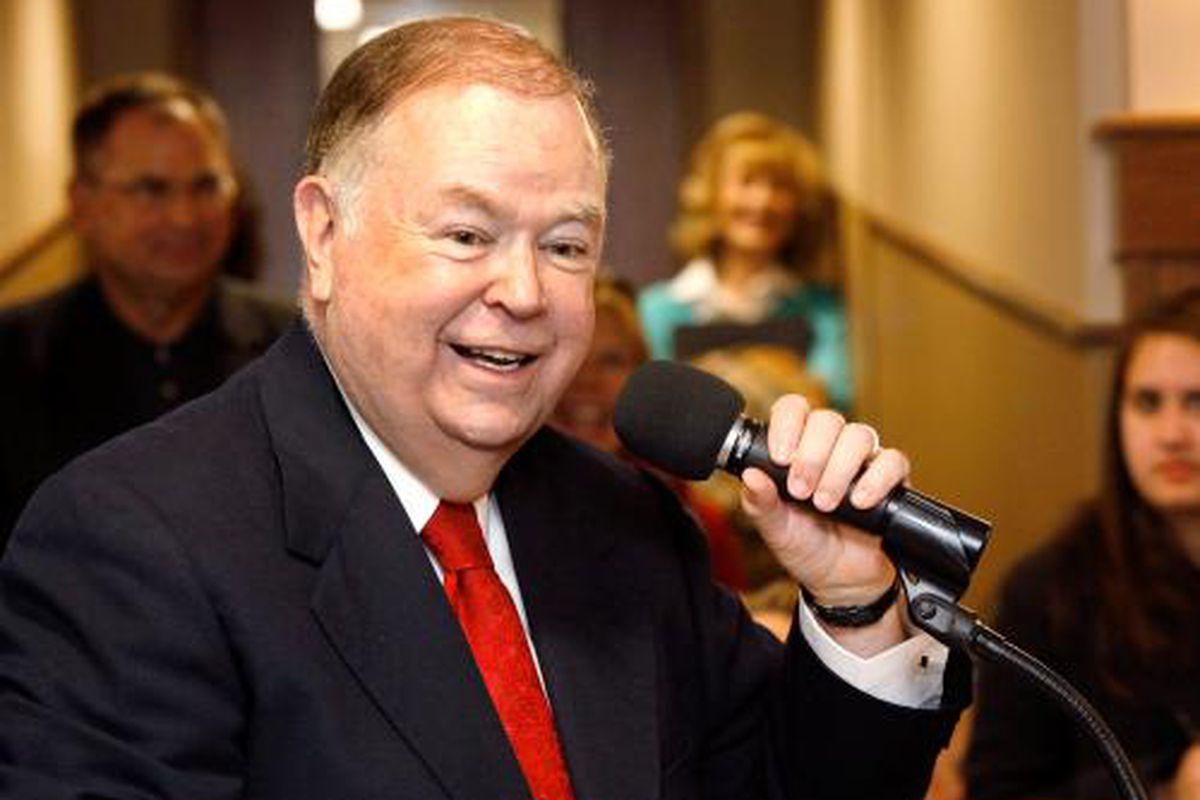 David Boren, president of the University of Oklahoma