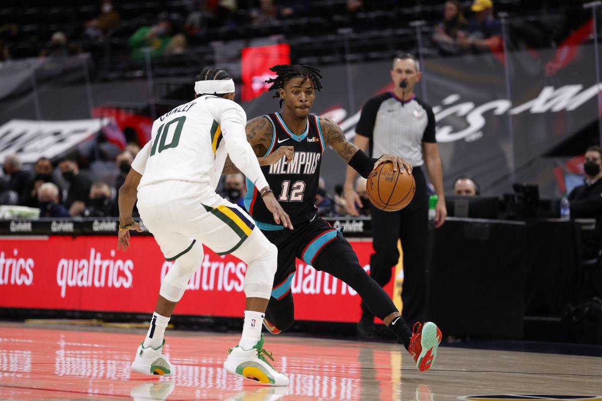 Memphis Grizzlies v Utah Jazz