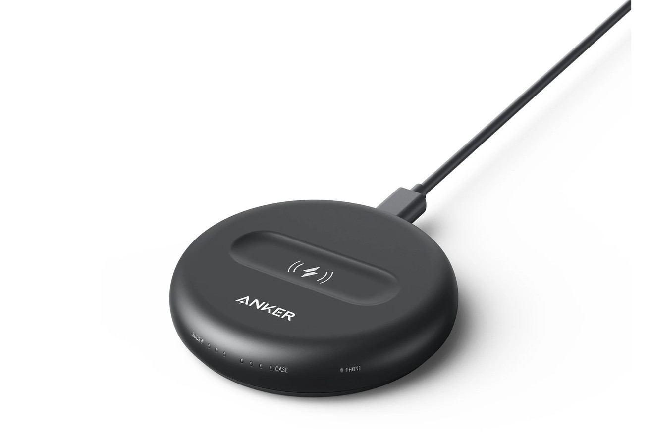 Anker's custom wireless charger for the unannounced second-gen Amazon Echo Buds leaks in full