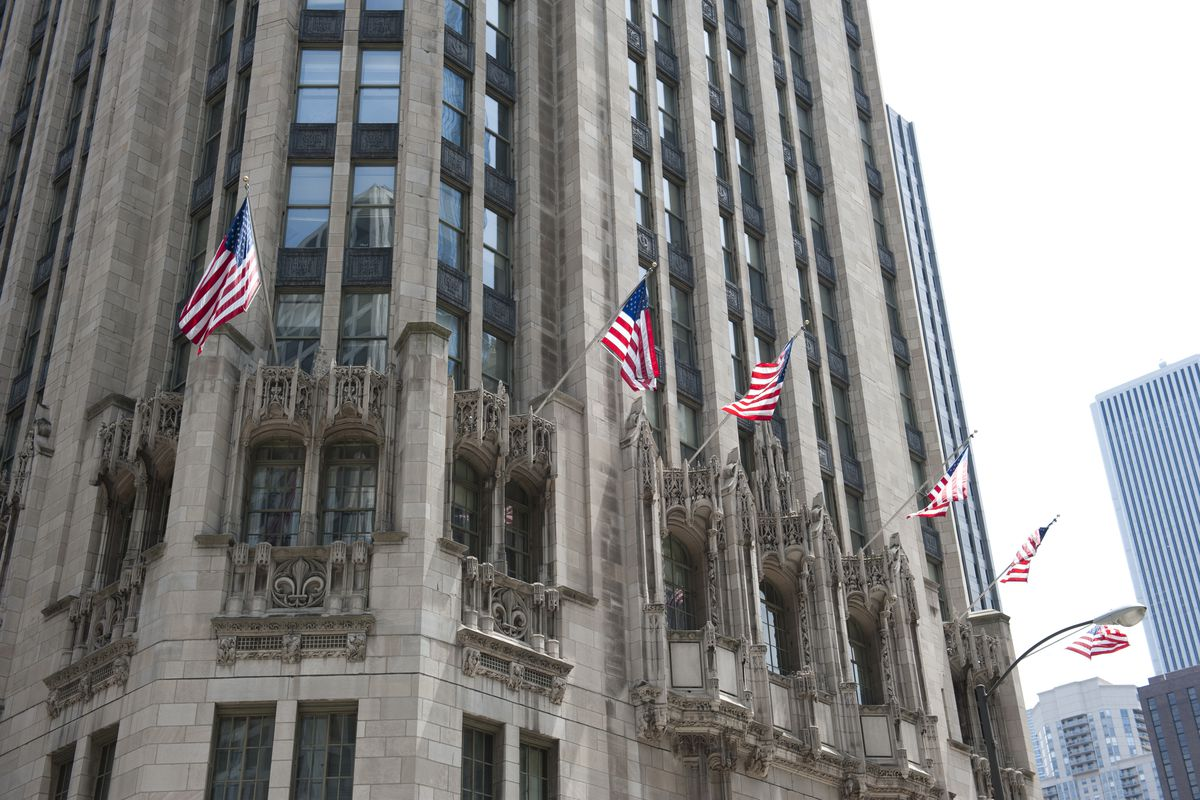 Tribune Tower Condo Conversion Supertall Addition In The