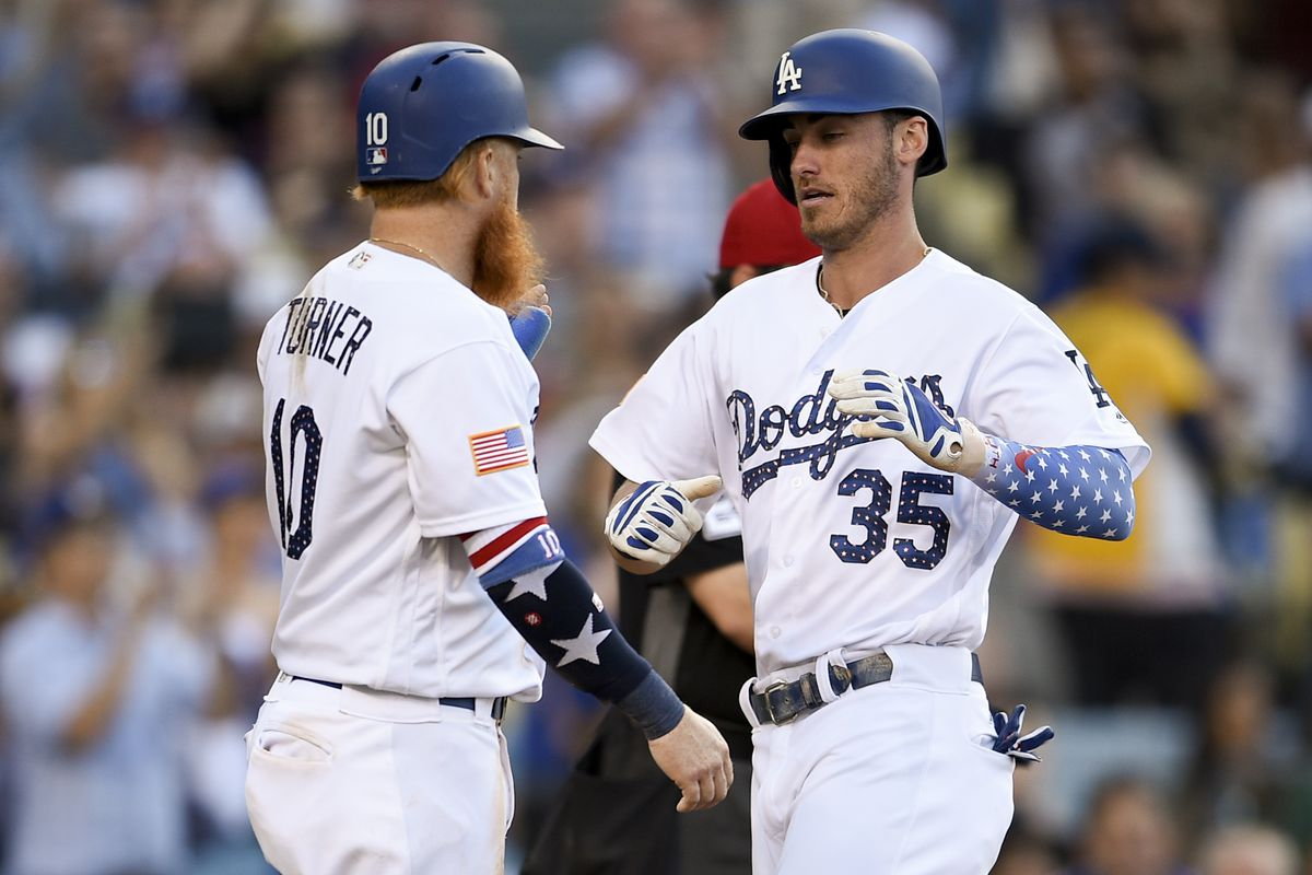d0abe97d7 Justin Turner and Cody Bellinger are the hottest hitters in baseball ...